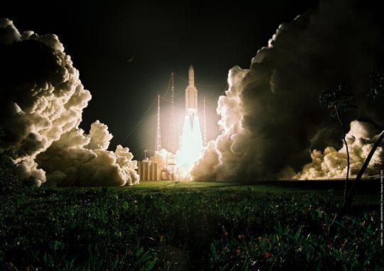 Arianespace tiếp tục phóng 2 vệ tinh lên quỹ đạo