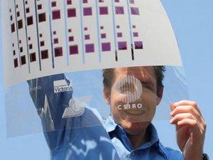 Australia sản xuất pin quang điện bằng kỹ thuật in