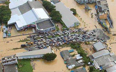Bangkok đang chìm dần… xuống biển