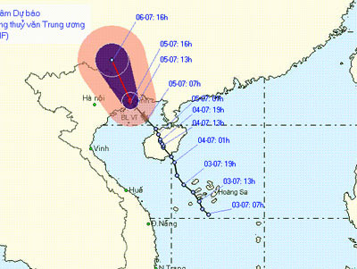Bão vào Quảng Ninh: Mất điện, đắm tàu, ngập nước
