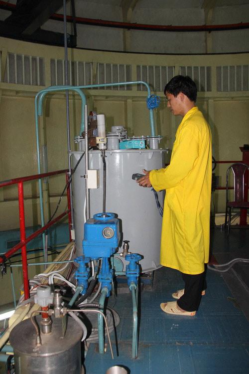 Bên trong lò phản ứng hạt nhân duy nhất ở Việt Nam