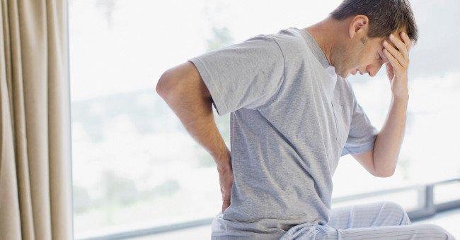Bệnh đau lưng khi ngủ dậy