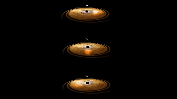 Bí ẩn đã được giải đáp: Hố đen làm xoáy không gian, thời gian