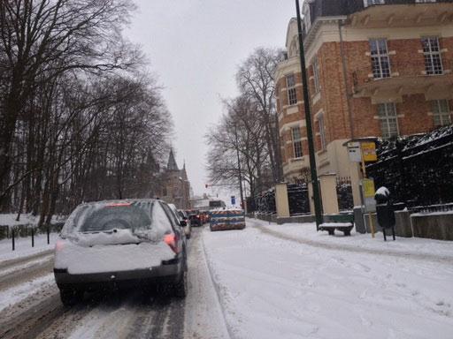 Bỉ: Nhiệt độ đã xuống mức thấp kỷ lục kể từ 1845