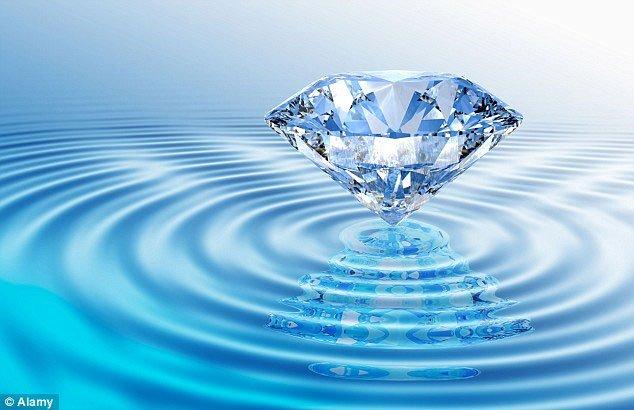 Biển kim cương khổng lồ ngoài Trái Đất