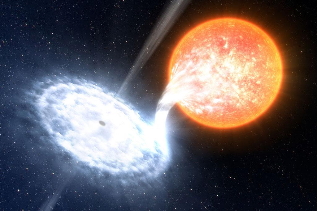 Các nhà khoa học quan sát được vật chất sáng gấp 1000 lần Mặt trời vừa xuất hiện từ hố đen