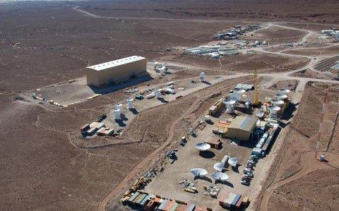 Cận cảnh kính thiên văn lớn nhất thế giới