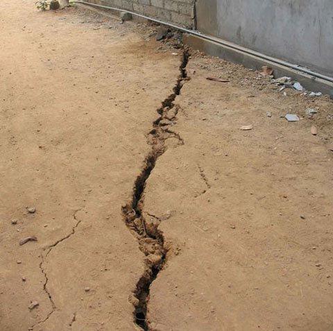 Cần sớm làm rõ hiện tượng sụt lún đất tại Trại Cau