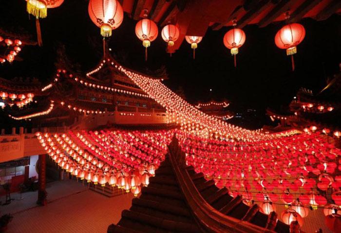 Châu Á đầy sắc màu đón Tết Bính Thân