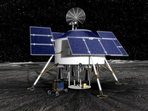 Châu Âu sẽ đưa robot lên mặt trăng