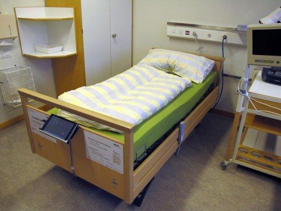 Chiếc giường giúp bệnh nhân bớt đau đớn