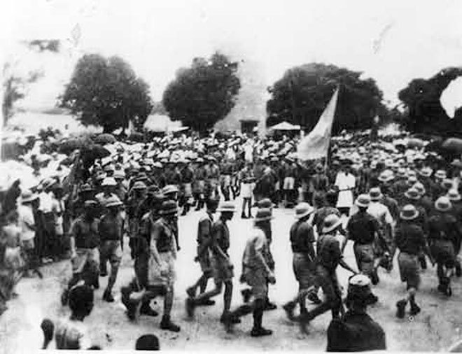 Chùm ảnh: Kỷ niệm 70 năm ngày Tổng khởi nghĩa thắng lợi