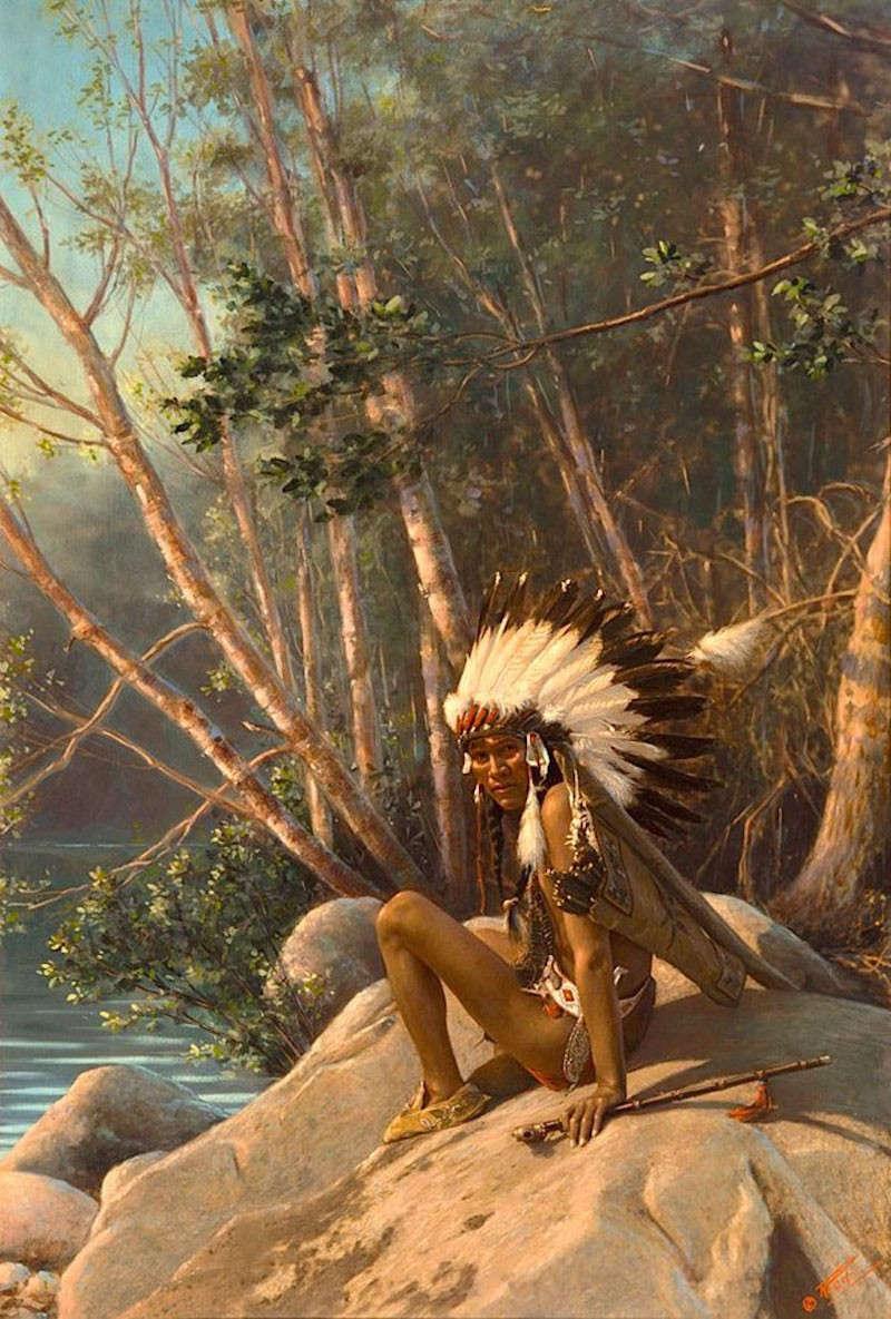 Chùm ảnh màu hiếm có về thổ dân châu Mỹ trong thế kỷ 19 và 20