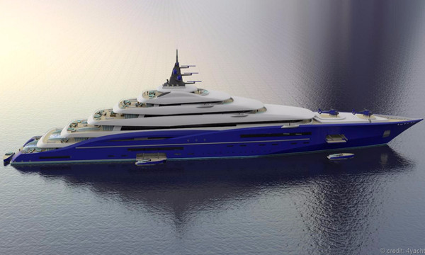 Chùm ảnh về những siêu du thuyền của tương lai