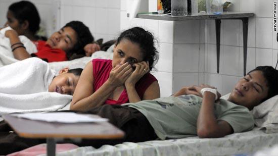 Chủng sốt xuất huyết mới tấn công Nam Mỹ