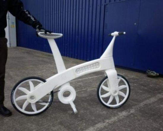 Công nghệ mới giúp chế tạo xe đạp từ sợi nylon