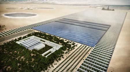 Công nghệ phủ xanh sa mạc bắt đầu được triển khai