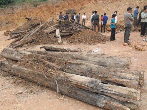 Đào được mộ cổ nghi của quý tộc đời Trần