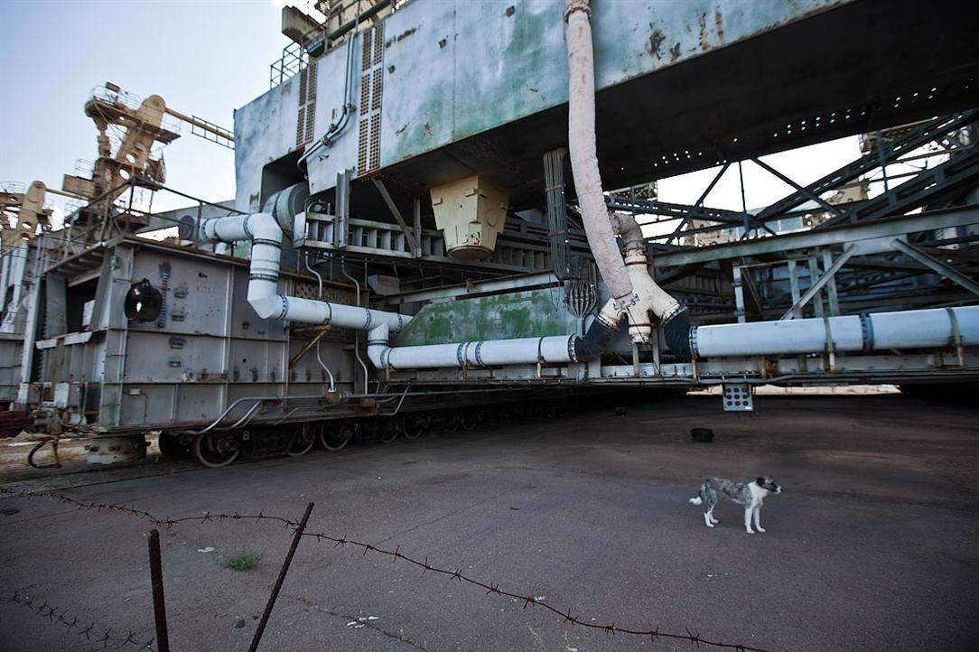 Dấu vết dự án không gian Buran của Liên Xô cũ