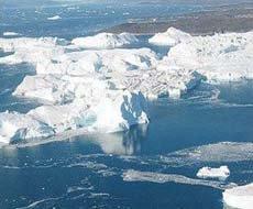 Diện tích băng ở Bắc Cực giảm kỷ lục vào mùa hè