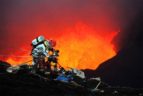 Đùa giỡn với núi lửa