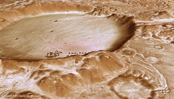 Giáng sinh trắng trên bề mặt hành tinh đỏ