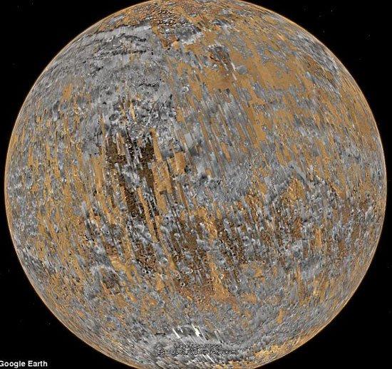 Google cung cấp hình ảnh sao Hỏa với độ phân giải cao