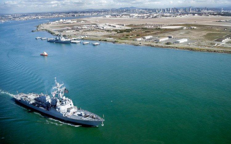 Hải quân Mỹ dùng mỡ bò làm nhiên liệu cho tàu chiến
