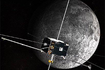 Hai vệ tinh song sinh Artemis trong quỹ đạo mặt trăng