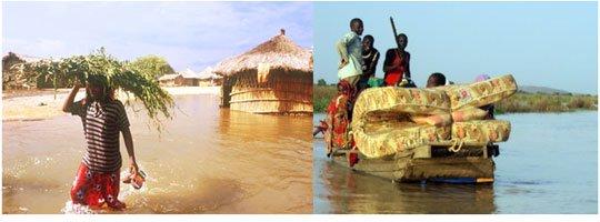 Hàng triệu người châu Phi bị ảnh hưởng do lũ lụt