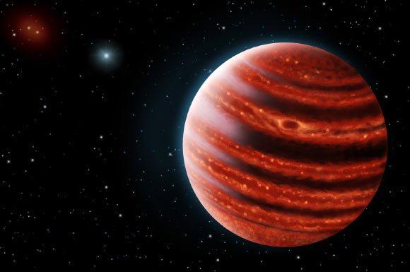 Hành tinh trẻ giống sao Mộc cách Trái đất 97 năm ánh sáng