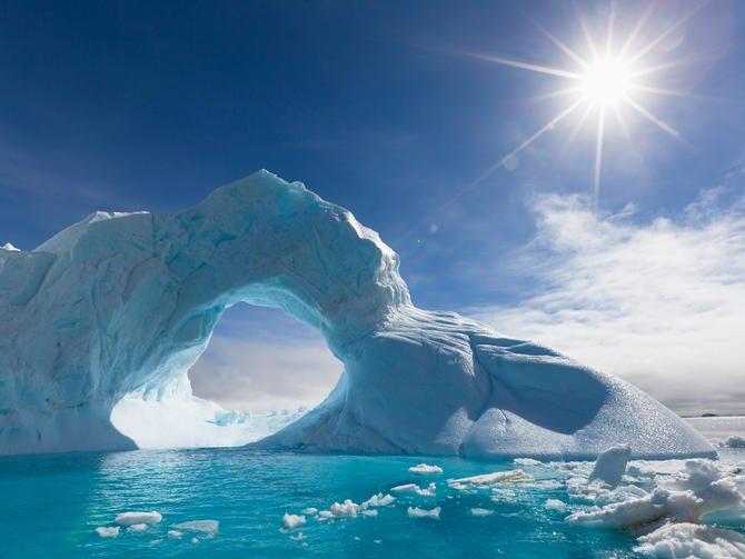 Hẻm núi vĩ đại nhất thế giới trốn dưới băng ở Nam Cực?