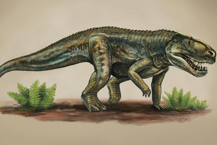 Họ hàng cá sấu xuất hiện từ 212 triệu năm trước