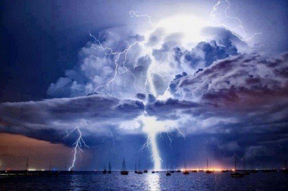 Hồ nước Maracaibon, nơi bị sét đánh nhiều nhất thế giới