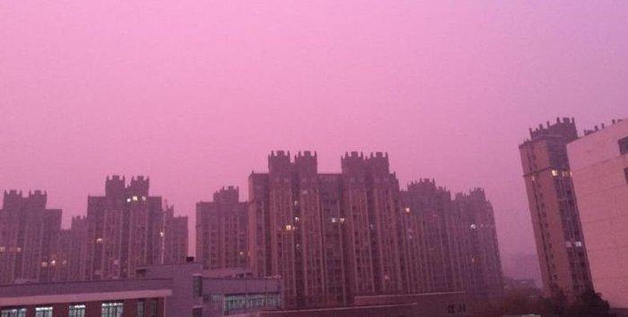 Hoàng hôn màu hoa oải hương ở Nam Kinh