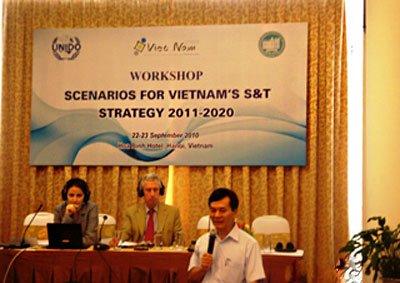 Hội thảo khoa học về Kịch bản cho Chiến lược phát triển Khoa học và Công nghệ Việt Nam đến năm 2020