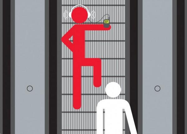Hướng dẫn kỹ năng đi thang cuốn an toàn