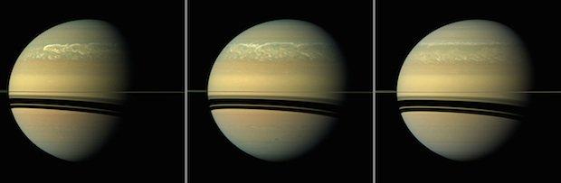 Khám phá bí ẩn siêu bão xuất hiện trên Sao Thổ