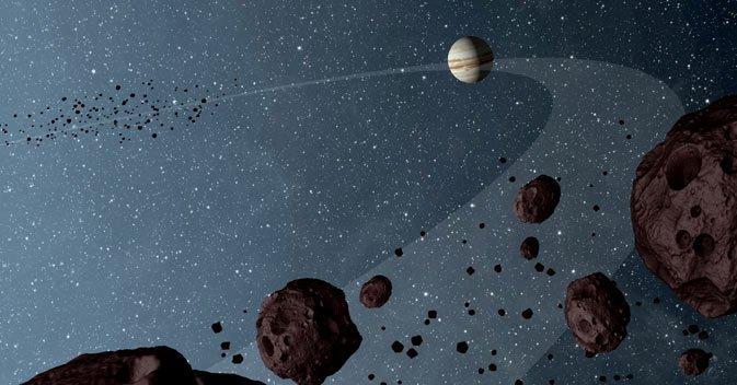 Khám phá bí ẩn về Jovian Trojan