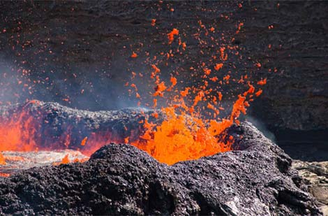 Khám phá địa ngục trên Trái đất