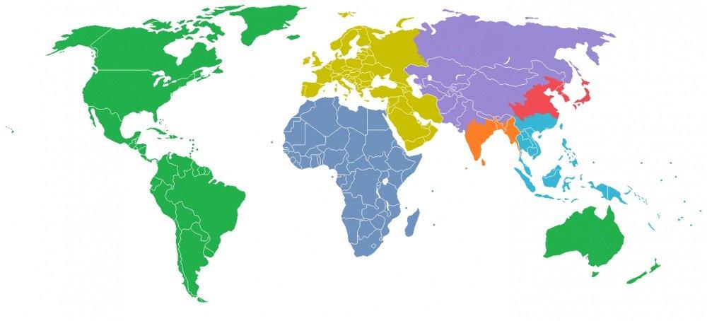 Khám phá thế giới qua 15 tấm bản đồ vô cùng thú vị
