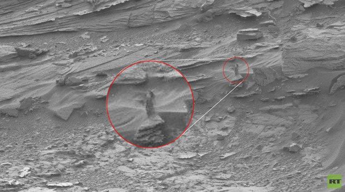 Lại phát hiện người ngoài hành tinh trên sao Hỏa?