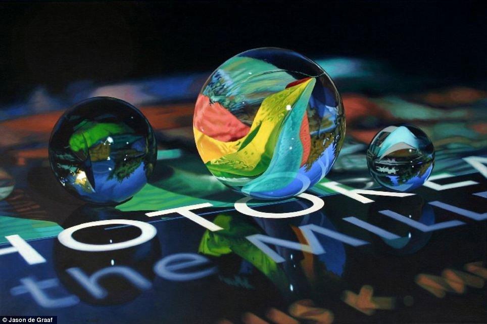 Mãn nhãn với tranh siêu thực đẹp như ảnh 3D
