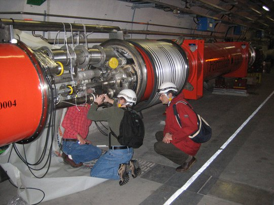 Máy gia tốc LHC bắt đầu nghỉ ngơi