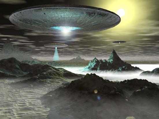 Miền nam nước Nga thu hút UFO