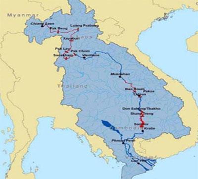 Mỹ ủng hộ việc hoãn xây đập thủy điện Lào