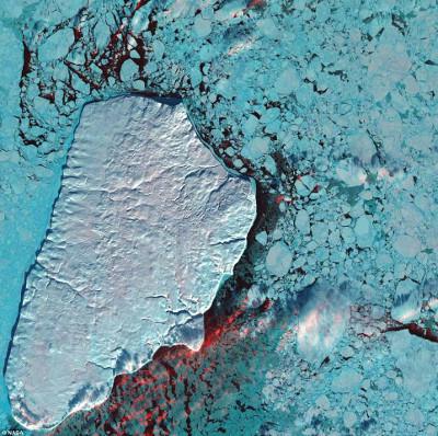 NASA công bố ảnh Trái đất chưa từng công bố