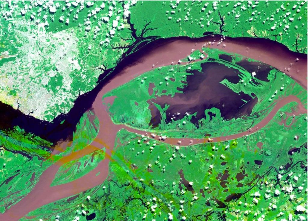 NASA công bố ảnh vệ tinh đẹp như tranh vẽ