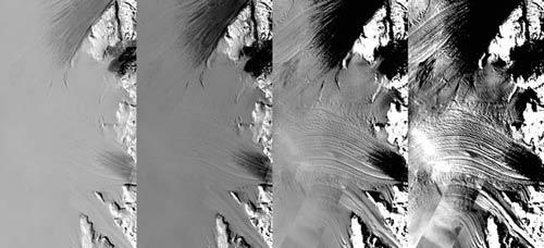 NASA công bố bản đồ chất lượng cao chụp khu vực Nam Cực