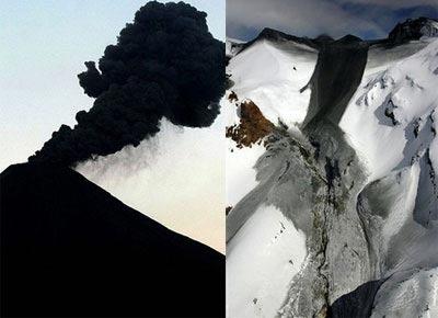 New Zealand: Núi lửa bất ngờ phun trào